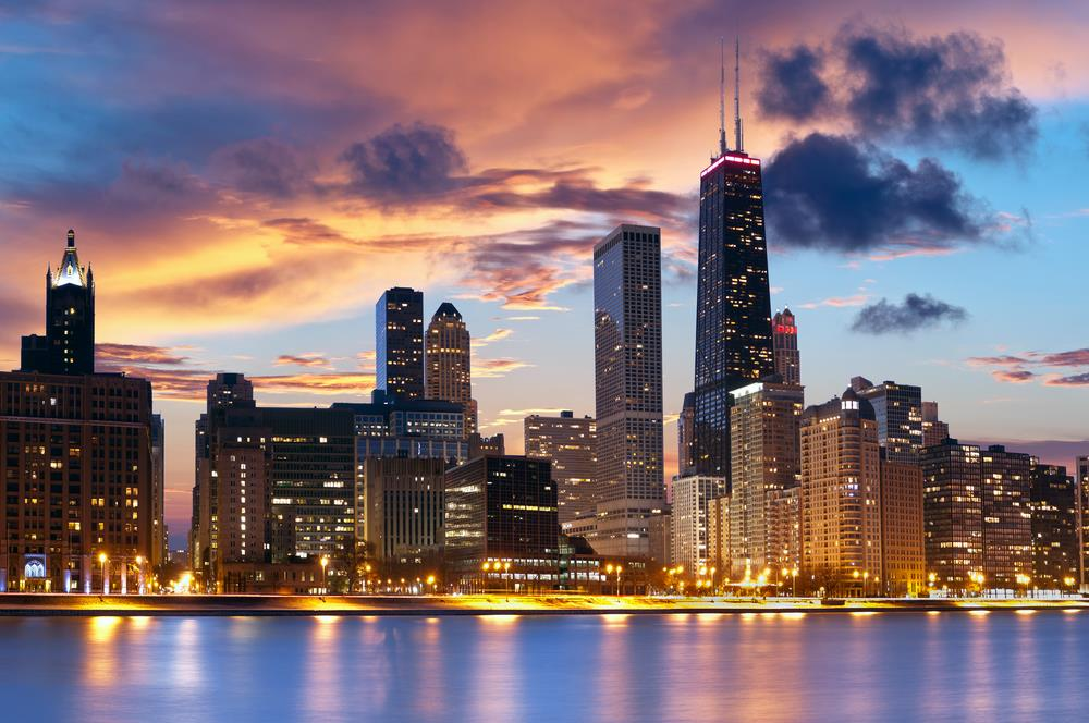 Photograph of the Chicago skyline