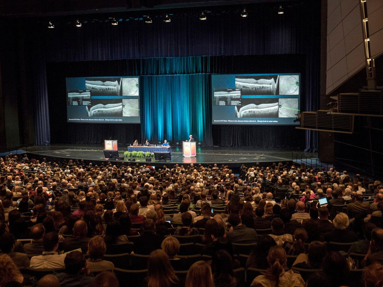 photo of american academy of optometry's annual meeting hall