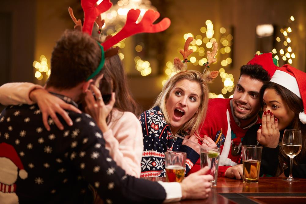 Don't get frisky at your holiday work party