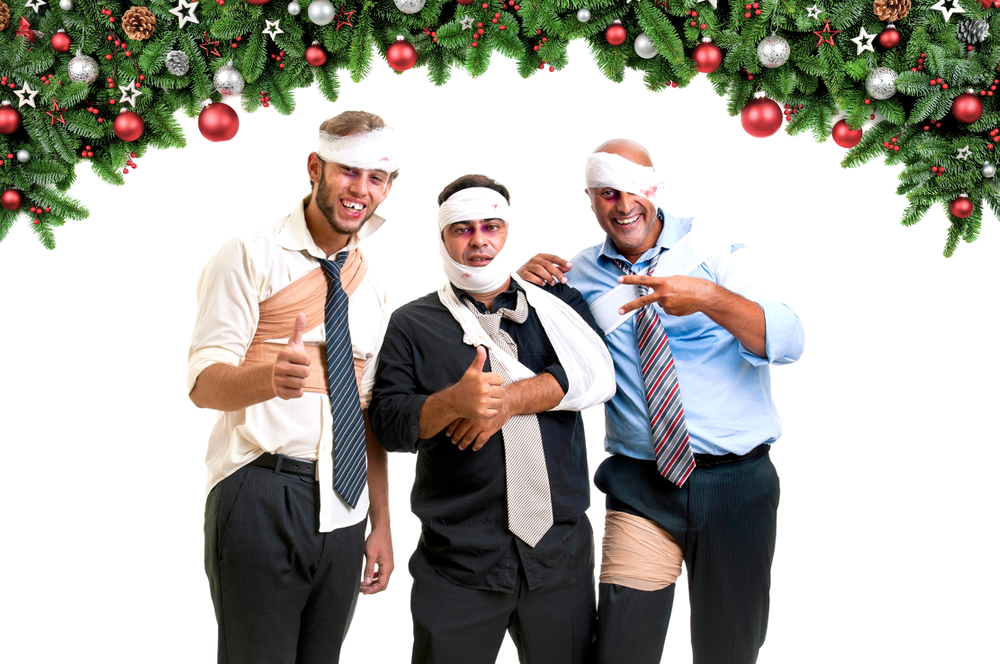 Don't fight your coworkers at your holiday work party