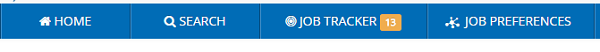 iHire Job Tracker Bar