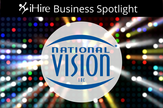 Business spotlight and national vision logo