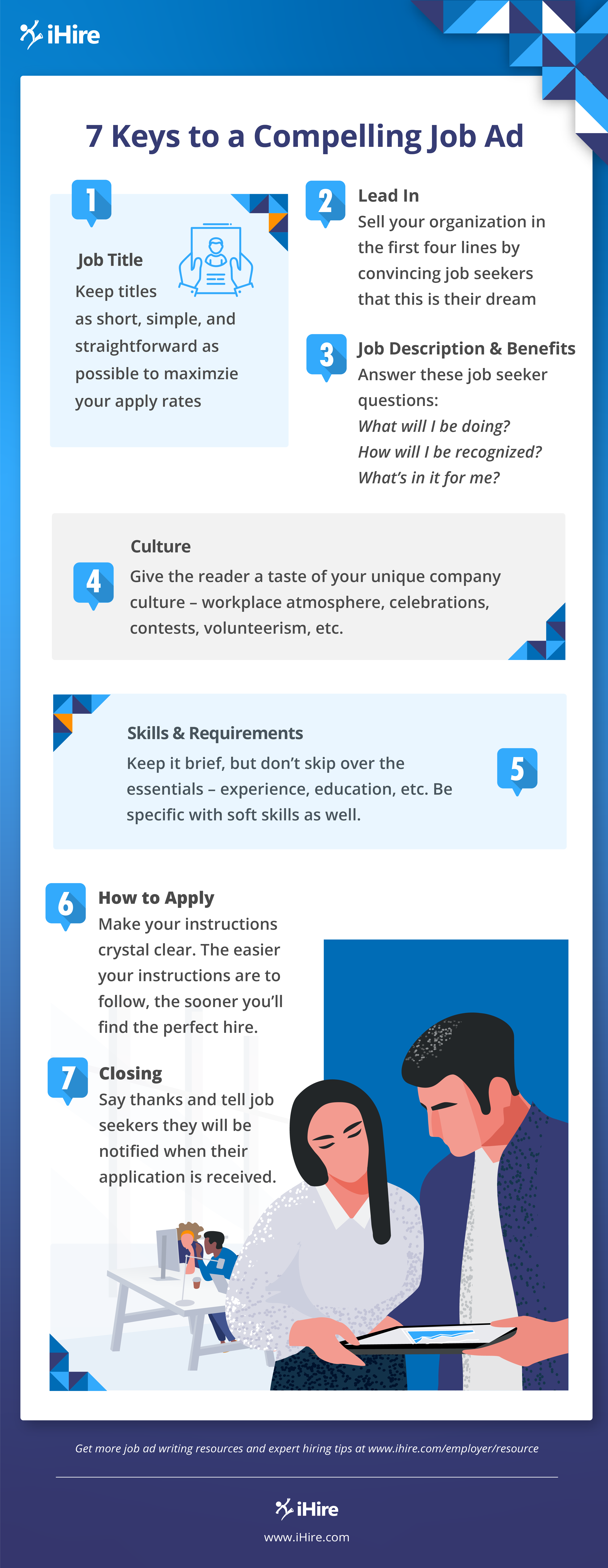 Infographic: 7 Keys to a Compelling Job Ad