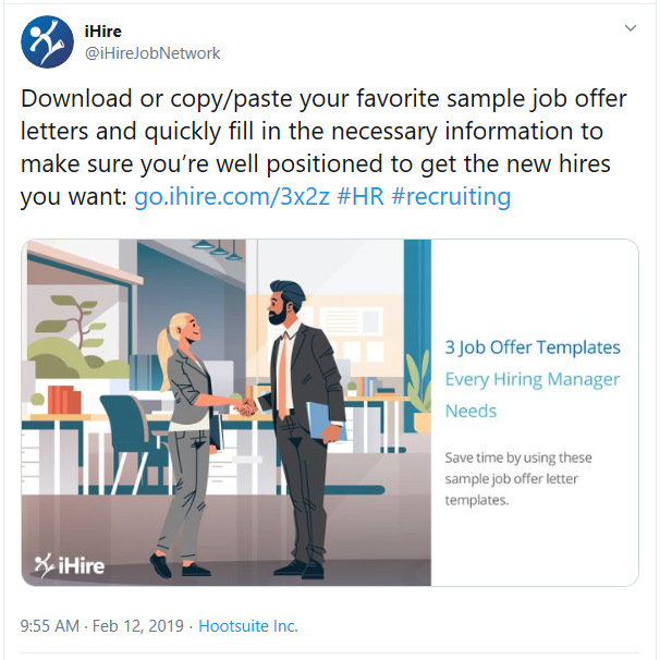 Tweet about article