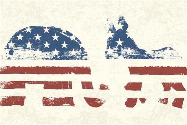2016 presidential election democrat republican symbols