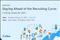 Staying Ahead of the Recruiting Curve slide image