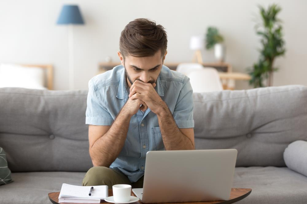 Frustrated job seeker trying to research company online