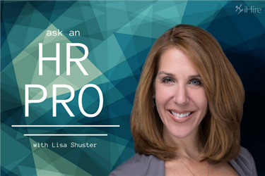 ask an hr pro lisa shuster