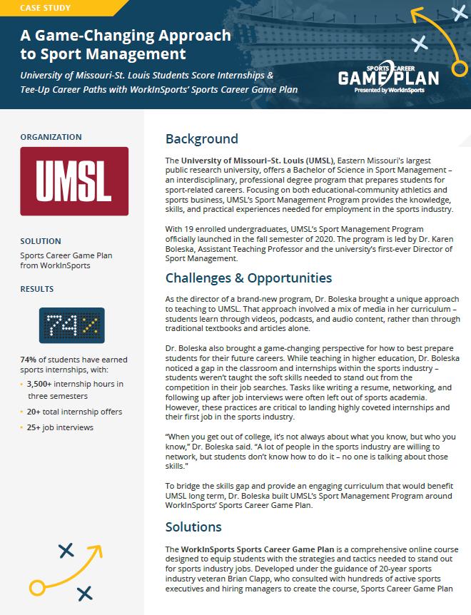 UMSL case study