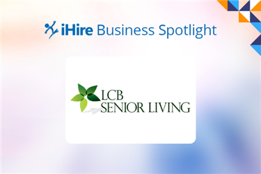 business spotlight with LCB Senior Living logo