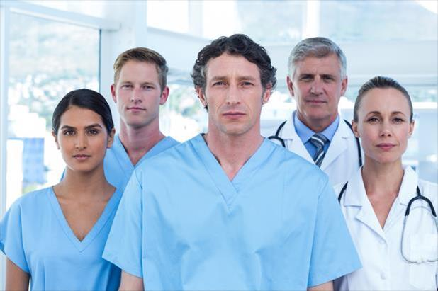 Advanced practitioners looking sternly at the camera after being called mid-level practitioners
