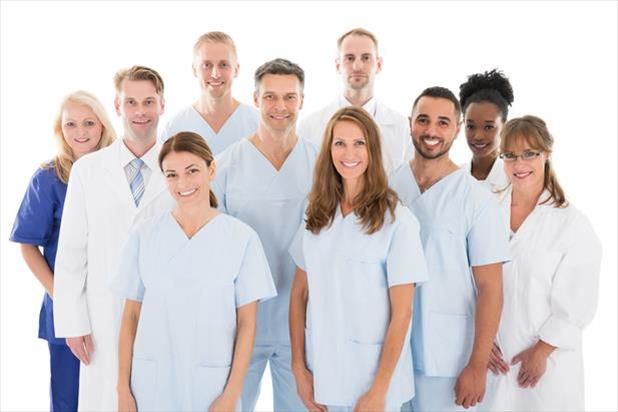 group of dental professionals