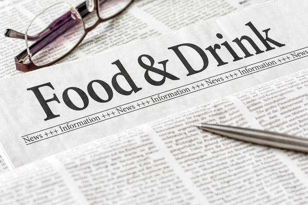 food section of newspaper