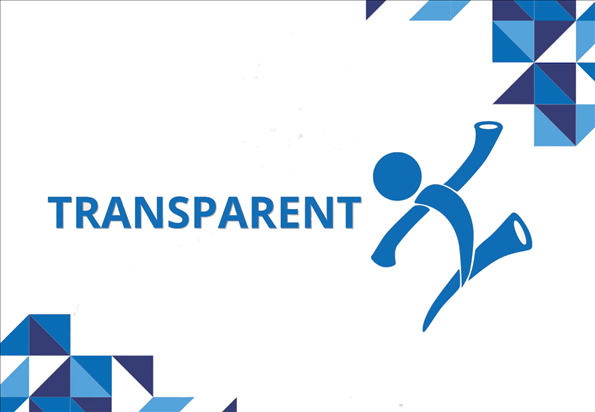 Transparent is one of iHire's 8 core values