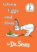 green eggs and ham book cover