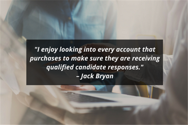 ihire account manager jack bryan quote