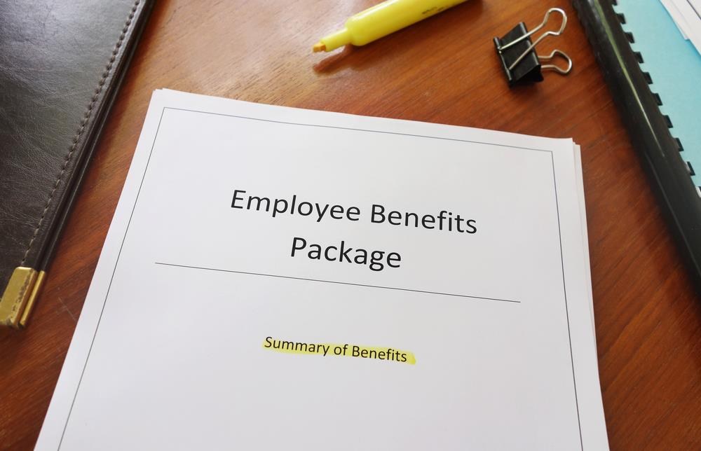 Employee benefits packet