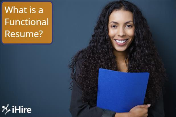 "Job seeker wonders, ""what is a functional resume?"""