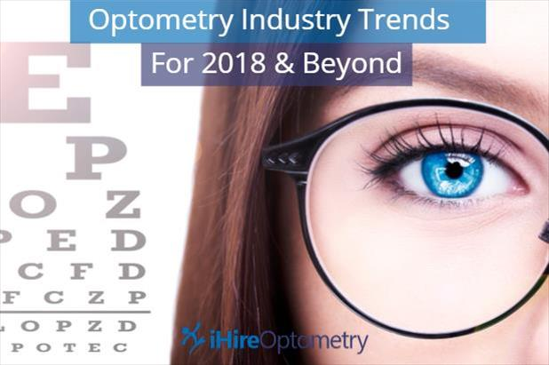 Read about the optometry industry trends we're watching for 2018 and beyond.