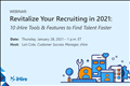 Revitalize Your Recruiting webinar slide