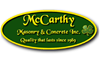 McCarthy Masonry and Concrete, Inc.