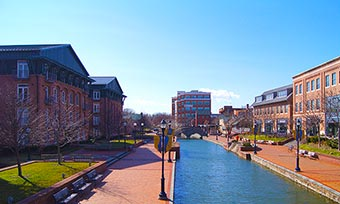Downtown Frederick, MD
