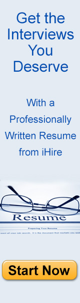 iHire Professional Resume Writing Services