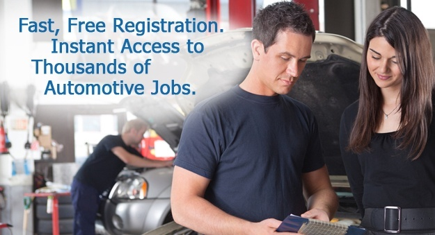 Search jobs for automotive professionals