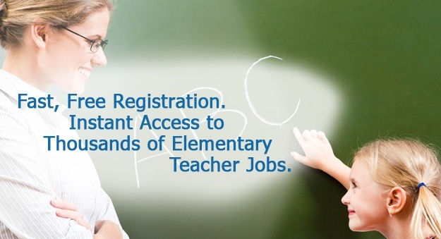 Search jobs for elementary teachers