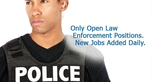 Find jobs in law enforcement