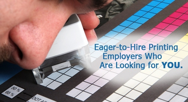 Hiring in printing services