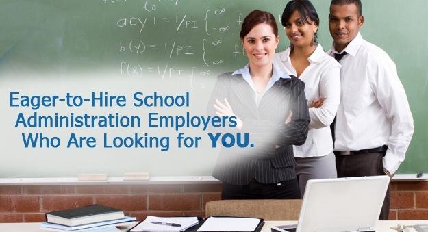 Hiring school administration professionals