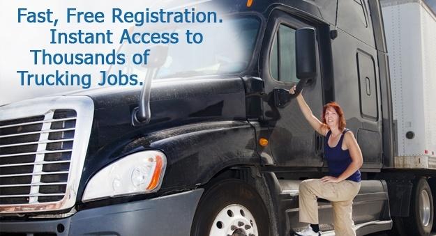 Truck driver jobs, hiring drivers