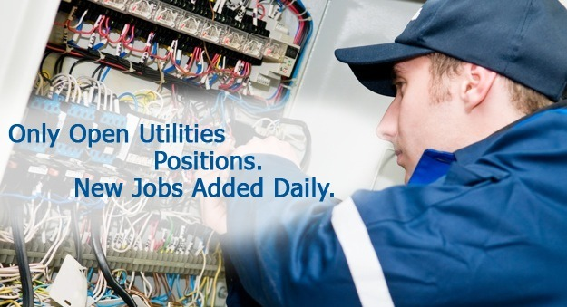 Water, electric, gas utility jobs