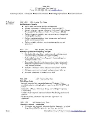 Amazing IHireMedTechs With Med Tech Resume