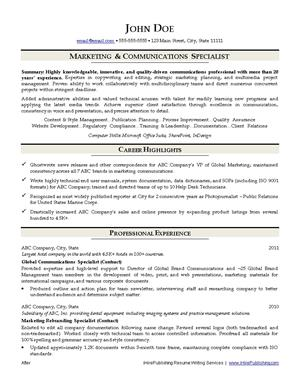 resume writing services tempe az