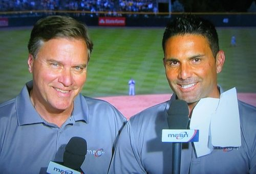 bob carpenter and fp santangelo in the broadcast booth