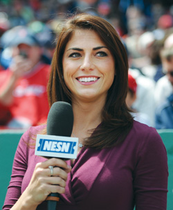 Jenny Dell Red Sox Reporter