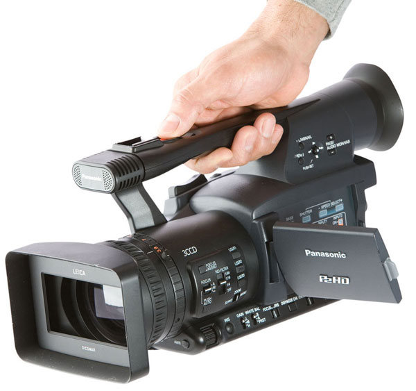 panasonic p2 camera great for news and sports reporting