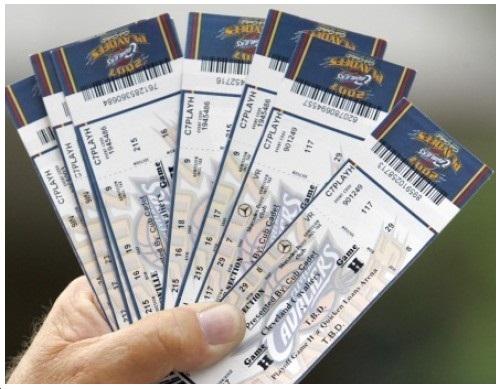 sports ticket sales
