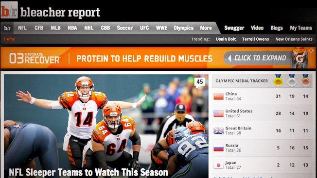 sports editor online bleacher rerport