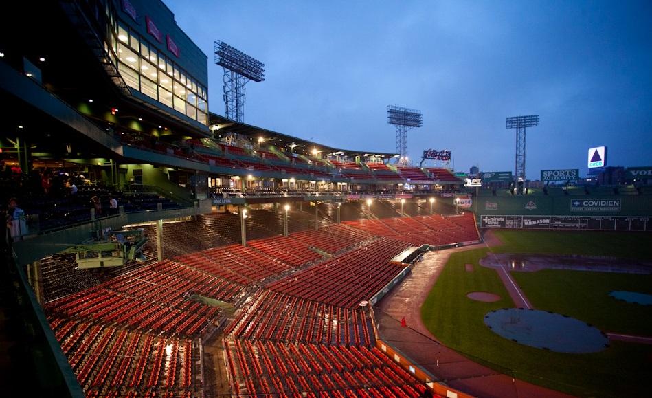 sports marketing jobs empty fenway park