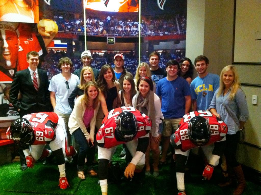sports journalism jobs gradysports atlanta falcons