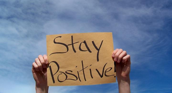 sports job stay positive