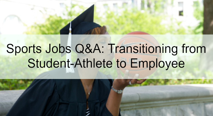 sports jobs for student athletes