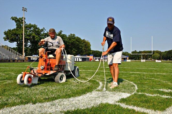 athletic field maintenance jobs football