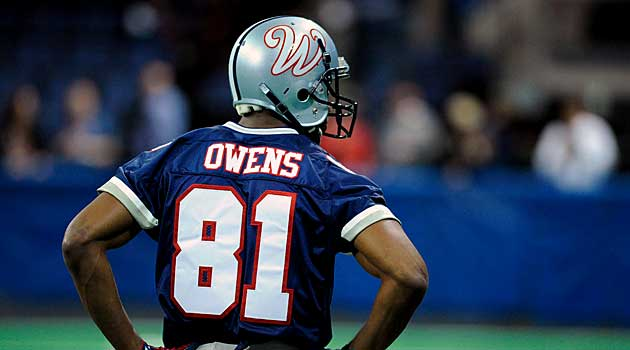 Traci Campbell was the Director of Communication for the Allen Wranglers when Terrell Owens was on, and then released from, the team. Talk about trial by fire.