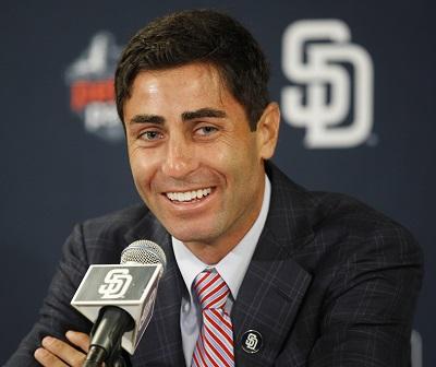 San Diego Padres GM A.J. Preller