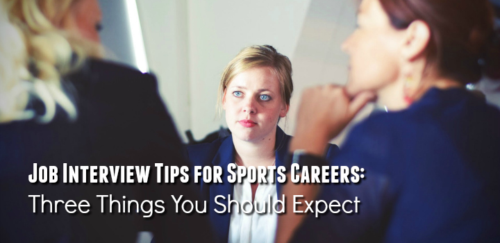 job interview tips for sports careers