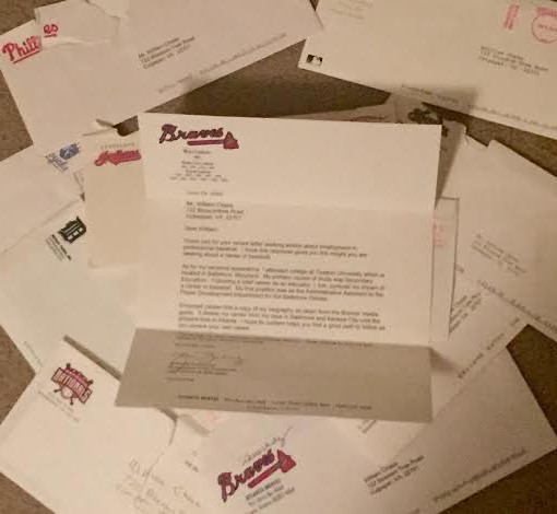 letters wrtitten to mlb general managers